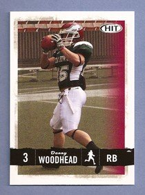 2008Salbei Hit # 3Danny Woodhead-- Chadron (Begriffsklärung) State RB-Erste Offizielle Fußball-NFL Rookie Karte-New York Jets --New England Patriots --Hot.