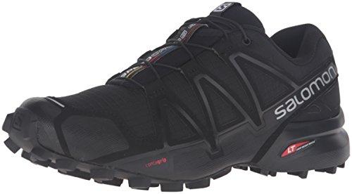 Salomon Damen Speedcross 4 W Trailrunning-Schuhe - schwarz (black/black/black metallic) , Gr. 36 2/3