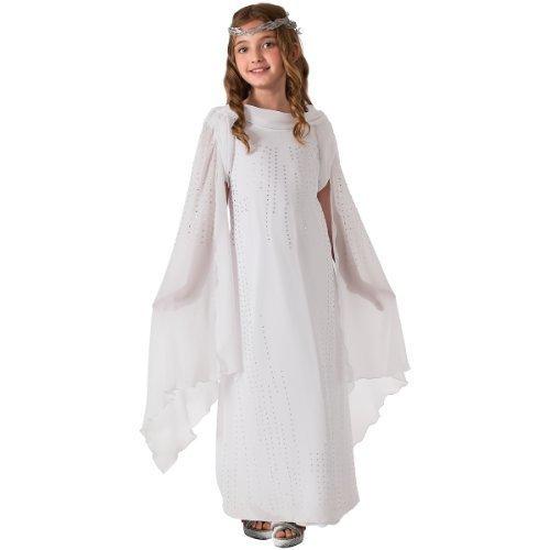 Der Hobbit Galadriel Kinderkostüm - Größe M (Kinder Galadriel Kostüm Für)