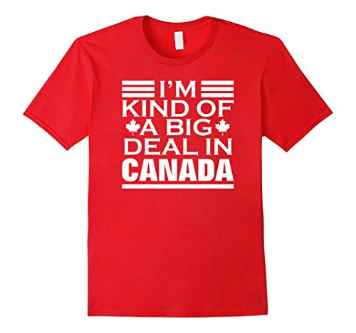 mens-premium-im-kind-of-a-big-deal-in-canada-funny-hockey-tshirt-large-red