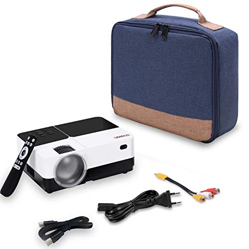 GEARGO Beamertasche, 25 x 21 x 11cm 100% Polyester Tragetasche für GEARGO HD Projektor - 7