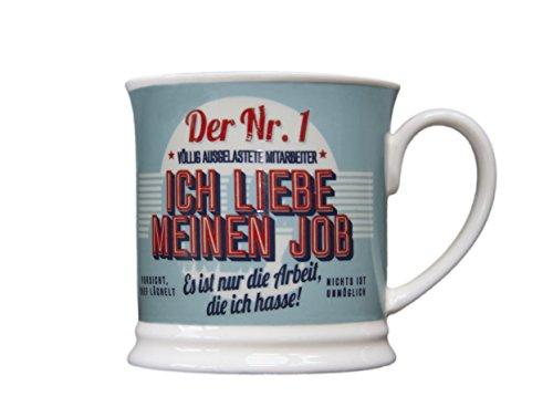 H & H 195000052 Becher, Porzellan, mehrfarbig, 12 x 8,7 x 8,7 cm