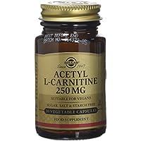 Solgar 250 mg Acetyl-L-Carnitine Vegetable Capsules - 30 Capsules