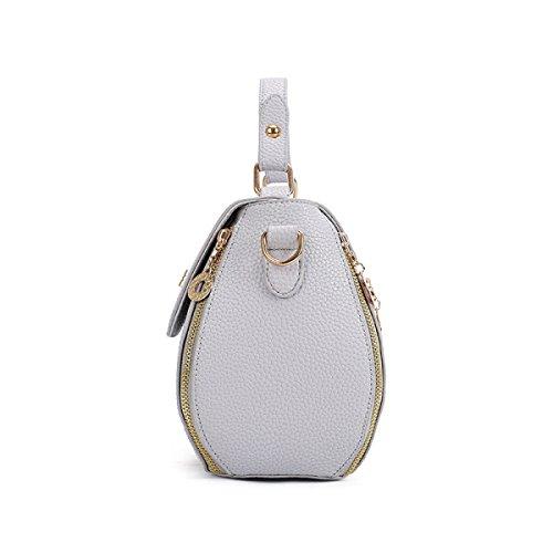 Frauen Schulter Messenger Bag Mini Gray