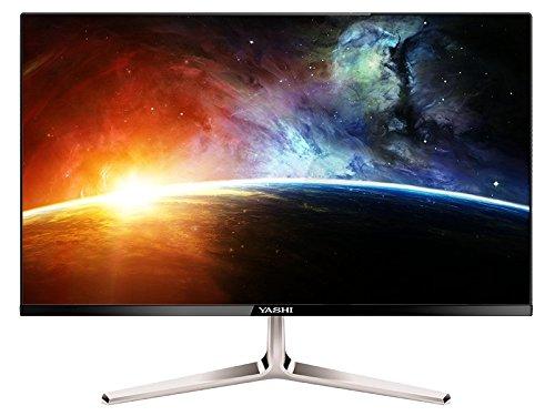YASHI YZ2207 21Zoll Full HD IPS Schwarz Computerbildschirm - Computerbildschirme (53,3 cm (21 Zoll), 300 cd/m², 1920 x 1080 Pixel, 2 ms, Full HD, IPS)