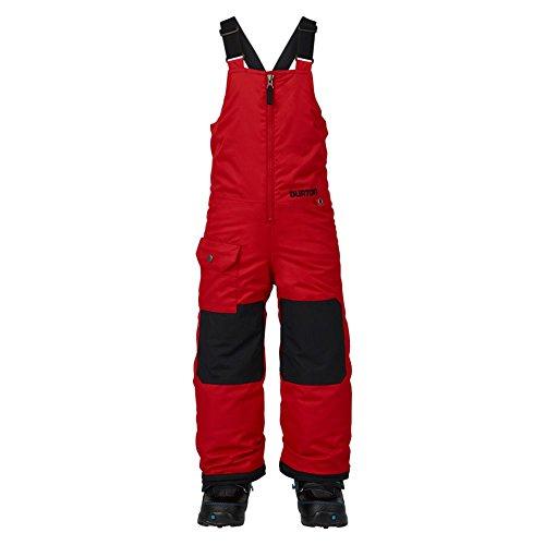 Burton Jungen Minishred Maven Bib Pant Snowboardhose, Process Red, 5\6