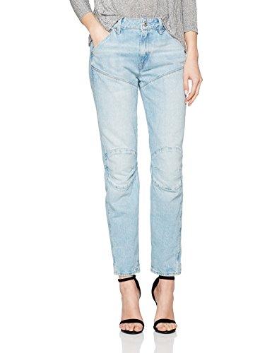 G-STAR RAW Damen Jeans 5620 3D Mid Boyfriend Wmn, Blau (Vintage Lt...