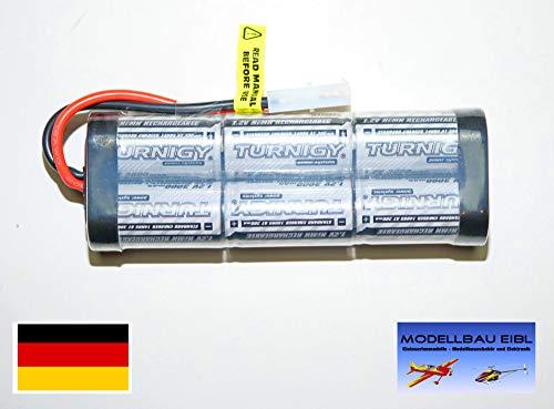 Turnigy 3000mAh 7,2V NiMH High Power RC Akku Racing Pack mit Tamiya Stecker für Modellbau Autos, Flugzeuge, Helikopter, Roboter UVM. von Modellbau Eibl ®