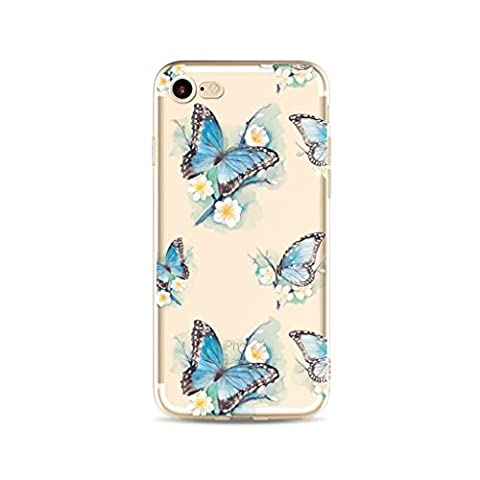 MUTOUREN iPhone 7 Plus TPU Silicone Case Cover Ultra thin
