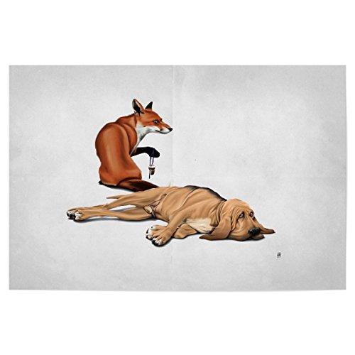 artboxONE Poster 45x30 cm Natur
