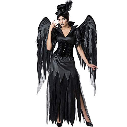 YKXIAOYU Damen Halloween Kostüm Cosplay Dark Angel Vampire - Vampir Angel Kostüm