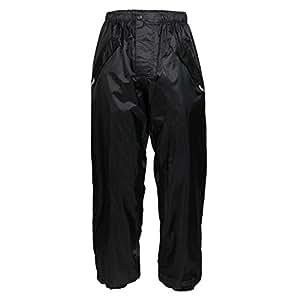 Texpeed Black Elasticated Waterproof Over Trousers