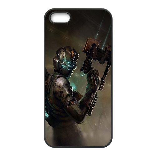 Dead Space 3 coque iPhone 4 4S Housse téléphone Noir de couverture de cas coque EBDXJKNBO13050