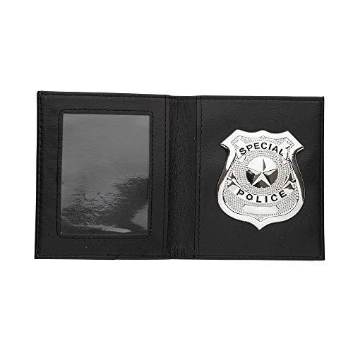 Widmann 05859 - Polizeiabzeichen in Brieftasche (Polizei Abzeichen Spielzeug)