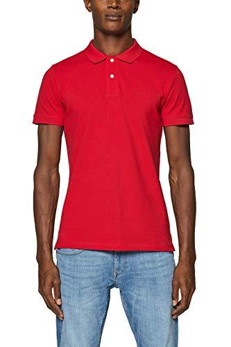 ESPRIT Herren 999EE2K803 Poloshirt, Rot (Red 630), X-Large (Herstellergröße: XL) -