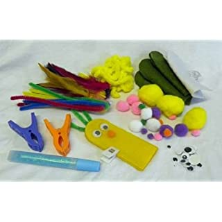 Finger Puppet Craft Set in a tin by Novelty Gifts