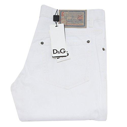 39455 jeans D&G DOLCE&GABBANA POWER pantaloni uomo trousers men [31]