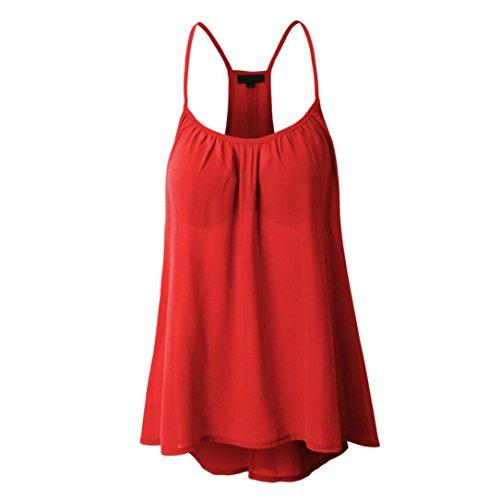 KIMODO T Shirt Damen Sommer Bluse Damen Weste Tank Top Crop Lose Blusen Große Größe Oberteile S-5XL Schwarz Rot weiß Mode 2019 - Volcom-lange Unterwäsche