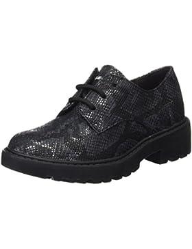 Geox J Casey M, Zapatos de Cordones Derby para Niñas
