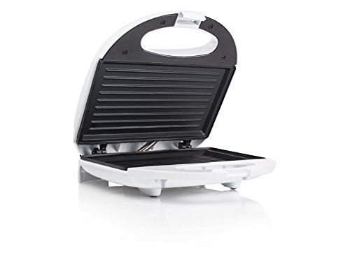 Tristar SA-3050 - Sandwichera plancha grill, 750 W, color blanco