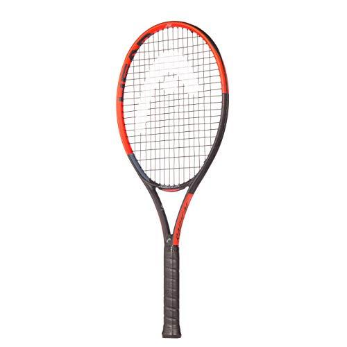 "HEAD Radical Raqueta de Tenis, Gris y Naranja, 26""/66 cm"
