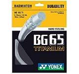 Yonex BG 65 TI Badmintonsaite Rolle mit 10 m