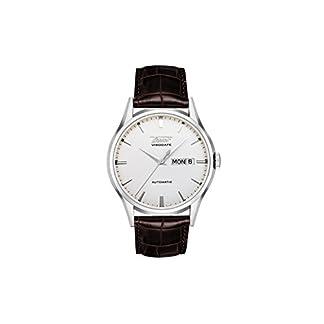 Tissot VISODATE T0194301603101 – Reloj de Caballero de Cuarzo, Correa de Piel Color Negro
