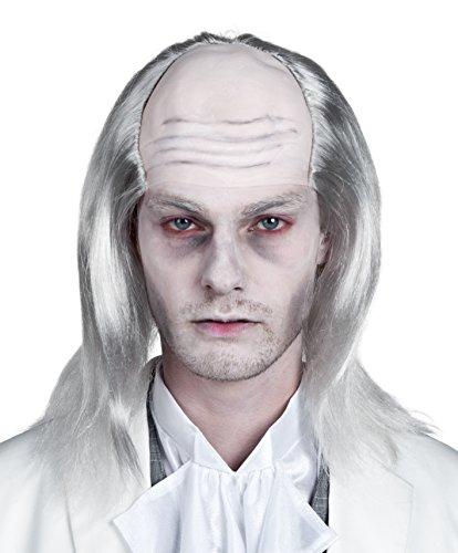 Boland 86338 - Perücke Zombie, weiߟ (Männer Halloween Kostüme Lange Haare)