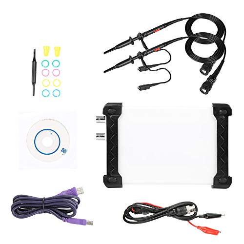 Osciloscopio USB 20M 48MS/s + Generador señal + Analizador