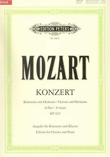 Konzert a-Dur KV 622 - Klar Orch. Klarinette in a, Klavier