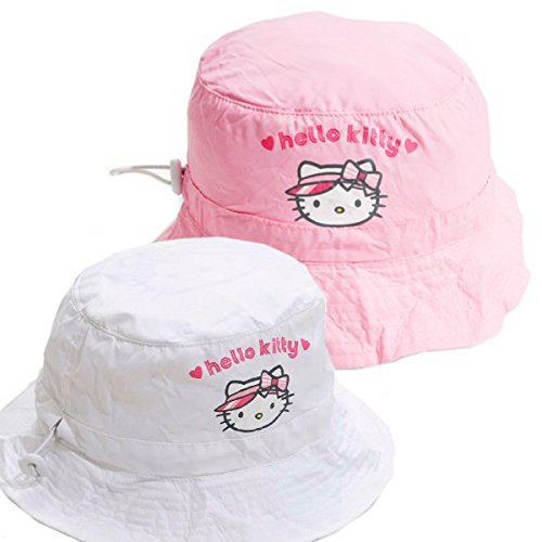 hello-kitty-enfants-chapeau-de-golf-impermable-blanc