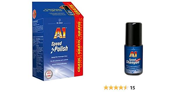 Dr Wack A1 Speed Polish 500 Ml Inkl Gratis A1 Speed Shampoo 75 Ml 27001 Auto