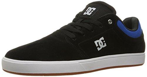 DC Crisis Homme Skateboard Chaussures - Noir - Noir/Bleu,