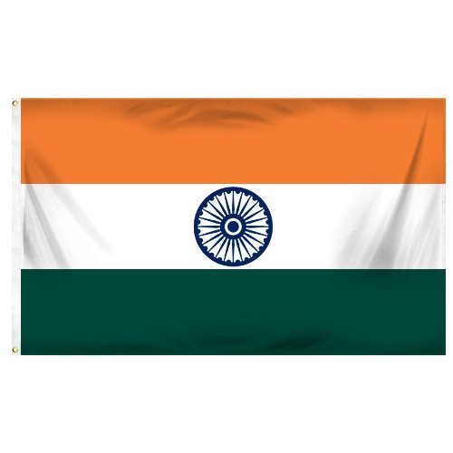 Online-Shops Indien Bedruckt Polyester Flagge, 3von Geschenkpapierrolle 150cm