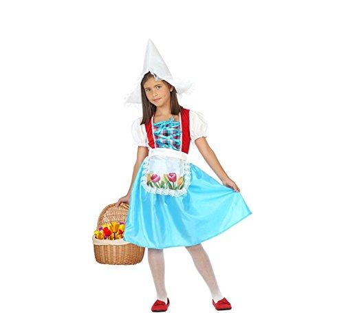 Girl Best Teen Kostüm - ATOSA 56824 Karnevalskostüm, Mädchen, Blau/Weiss/Rot, 10 a 12 años