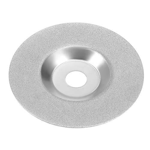 sourcing map Diamant Schleifscheibe Stein Schleifscheibe für Winkelschleifer 150 Grit 4 Zoll DE de