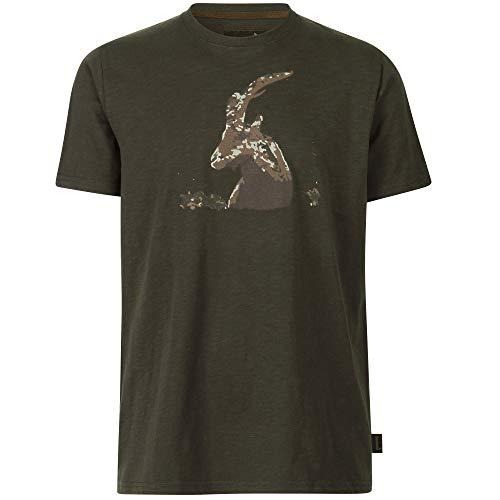 Seeland Flint Jagd T-Shirt in Grizzly Brown und Dark Olive   Jäger T-Shirt (Grizzly Brown, XL)