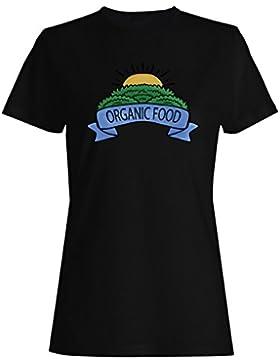 Vegetariano sano vegetariano camiseta de las mujeres d505f