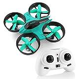 HELIFAR F36 Mini Drone 2.4G 4CH 6Axes Contrôleur Gyroscopique Mode sans tête avec Télécommande RC Quadcopter Drone RTF pour Enfante Débutante(Bleu)