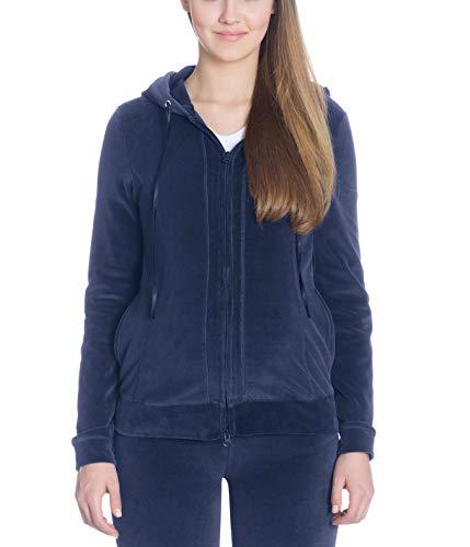 bellybutton Loungewear- Jacke Mama Dark Blue gemütlicher Kuschel-Look 11349 11348