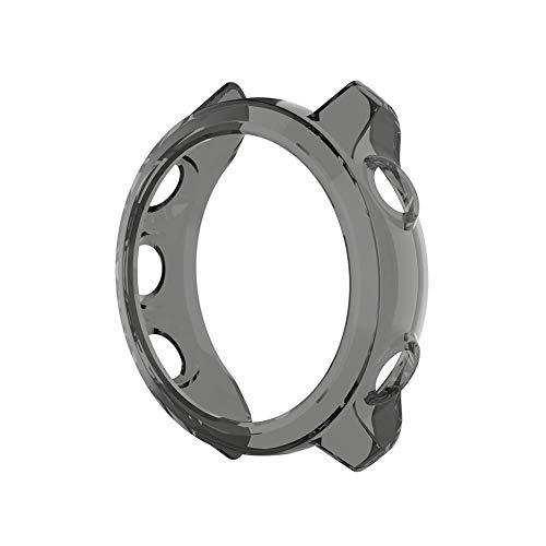 Beneu Für Garmin Forerunner 245/245 Mt Smart Watch Displayschutzfolie Transparent TPU Case Kompatibel 3D Gebogene Kante Hd Anti-Scratch Anti-Bubble Klar High Definition -