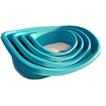 ASC High Quality Plastic Dog Bed / Basket with Quality Fleece Bedding (Large)