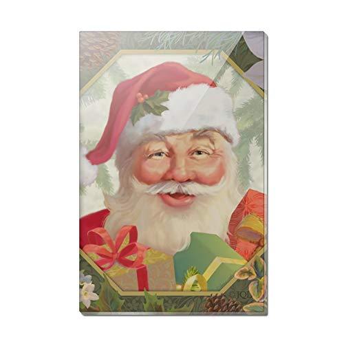 (Kühlschrankmagnet aus Acryl, Motiv Jolly Santa Claus)