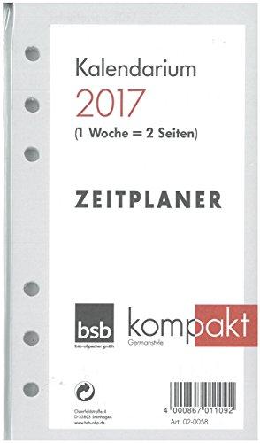 Obpacher Verlag 02-0058 - Kalendarium Time-Planer pocket A6 1Woche auf (2018)