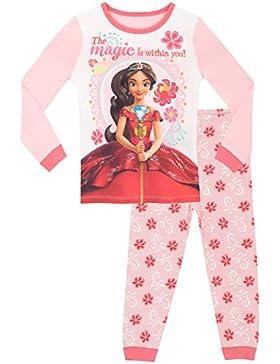 Disney - Pigiama a maniche lunghe per ragazze - Elena di Avalor - Vestibilitta Stretta