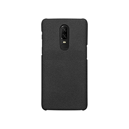 Oneplus 6 X-Level Metallic Ultra Thin Slim Matte Hard Back Case Cover for Oneplus 6/One Plus 6/1+6 – Black by Gear Next