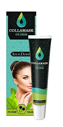 COLLAMASK® EYE CREAM ist die ideale Augenkonturcreme gegen die Hauptprobleme im Augenbereich, wie z.B. Hautalterung, Falten, Schwellungen, Augenringe, Trockenheit. Ideal für alle Hauttypen.