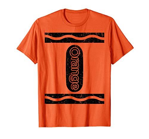 Orange Crayon Funny Halloween Group Costume Gift - Orange Crayon Kostüm