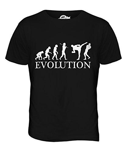 CandyMix Mixed Martial Arts Mma Evolution Des Menschen Herren T Shirt Schwarz
