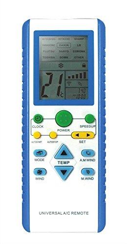 Telecomando per climatizzatori Samsung Panasonic Mitsubishi Hitachi Sharp Sanyo Lg De Longhi ...